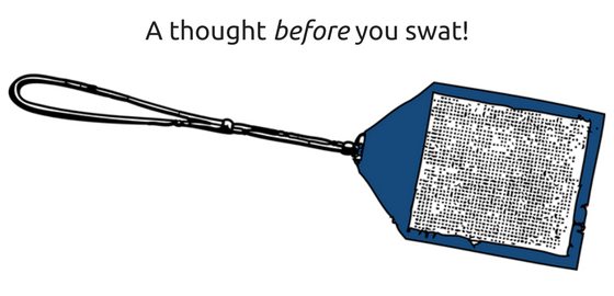 A_thought_before_you_swat